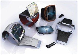 Носимый компьютер в виде часов